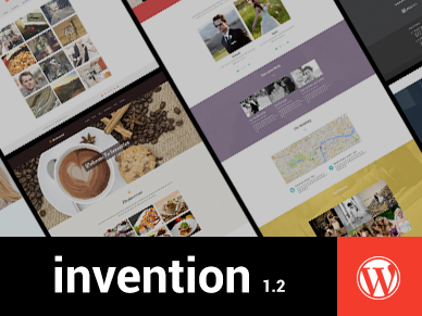 Invention Responsive Multi Purpose WordPress Theme